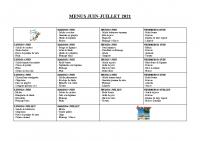 menu JUIN-JUILLET